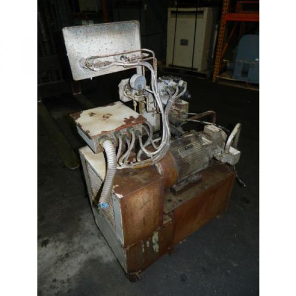 Showa / Nachi 3 HP Hydraulic Unit, PVU-40-0403-HX196 w/ UVD-2A-A2-22-4-1697A #10 image