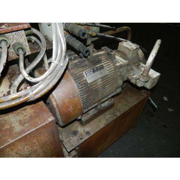 Showa / Nachi 3 HP Hydraulic Unit, PVU-40-0403-HX196 w/ UVD-2A-A2-22-4-1697A #11 image