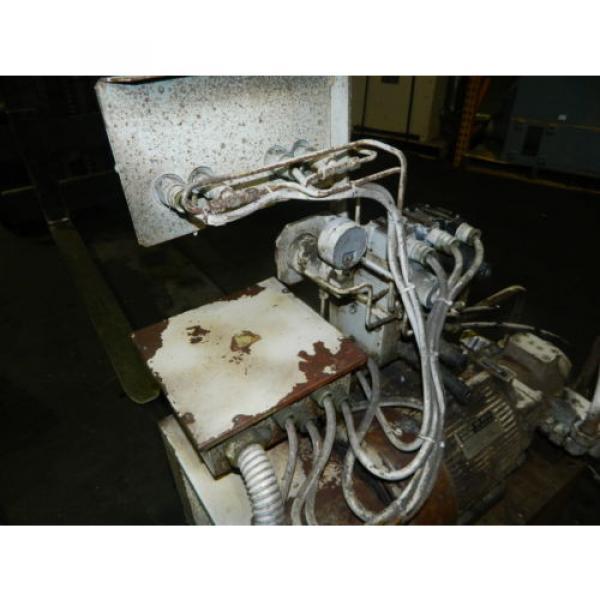 Showa / Nachi 3 HP Hydraulic Unit, PVU-40-0403-HX196 w/ UVD-2A-A2-22-4-1697A #12 image