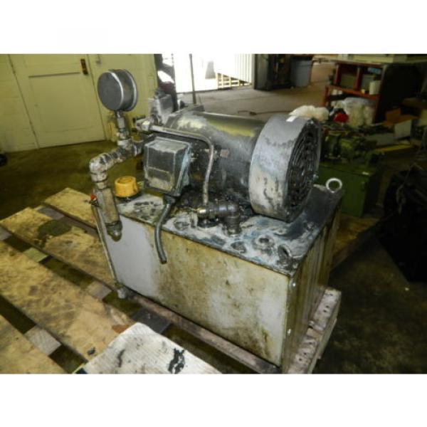 Nachi 2 HP 15kW Hydraulic Unit w/ Tank, VDS-0B-1A3-U-10, Used, WARRANTY #6 image