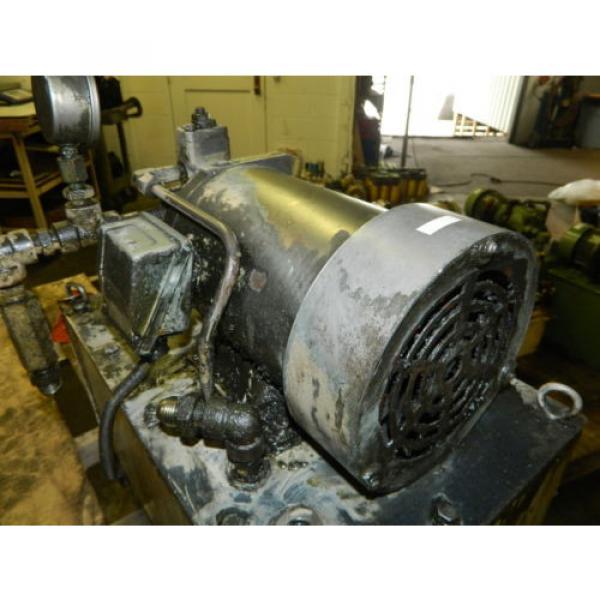 Nachi 2 HP 15kW Hydraulic Unit w/ Tank, VDS-0B-1A3-U-10, Used, WARRANTY #7 image