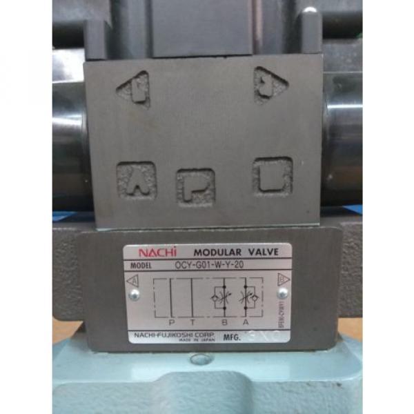 Nachi 4-way Hydraulic Valve DSS-C6-ARY-C115-E22 #3 image