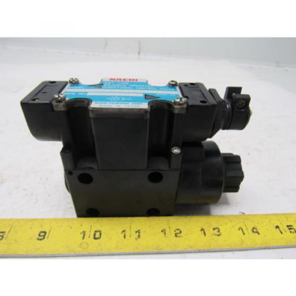 Nachi SL-G01-H3X-RT-C1-9320B Hydraulic Solenoid Directional Control Valve #9 image