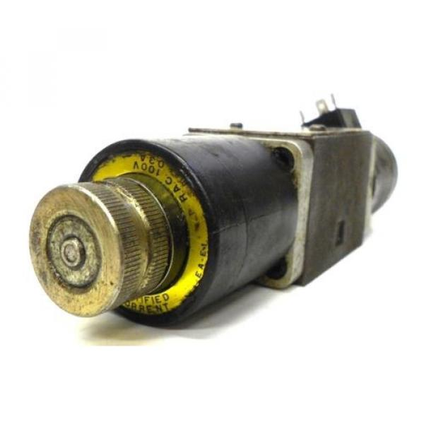 NACHI FUJIKOSHI SOLENOID OPERATED CONTROL HYDRAULIC VALVE SA-G01-C9-R-E1-8683A #7 image