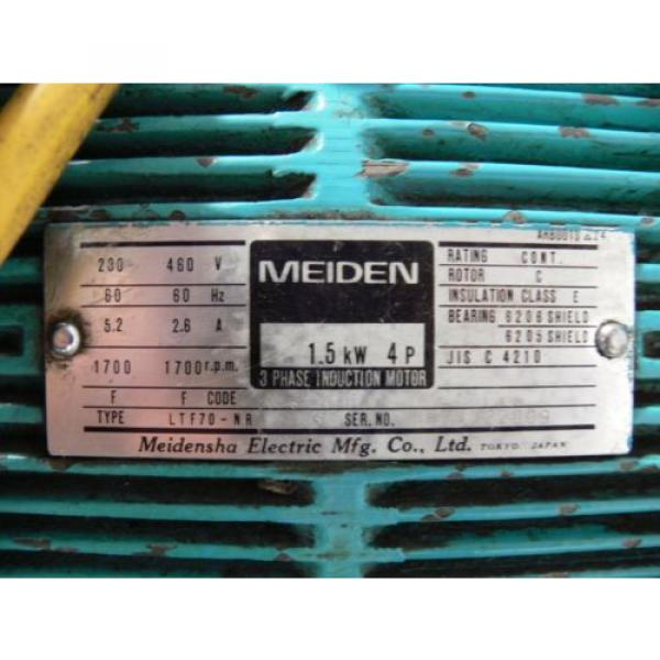 NACHI VDR-1B-1A3-B VARIABLE VANE HYDRAULIC amp; UNI PUMP  WITH TANK amp; OIL COOLER #7 image