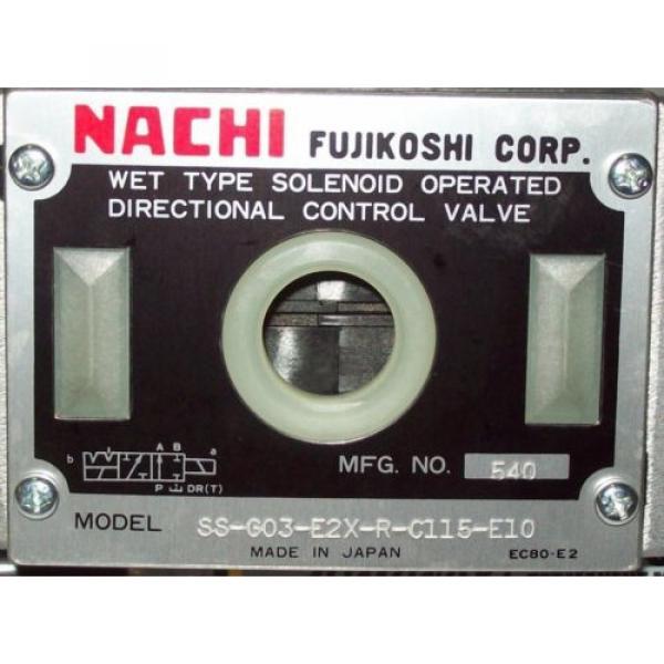 D05 4 Way 4/2 Hydraulic Solenoid Valve i/w Vickers DG4S4-01?N-WL-B 115 VAC #2 image