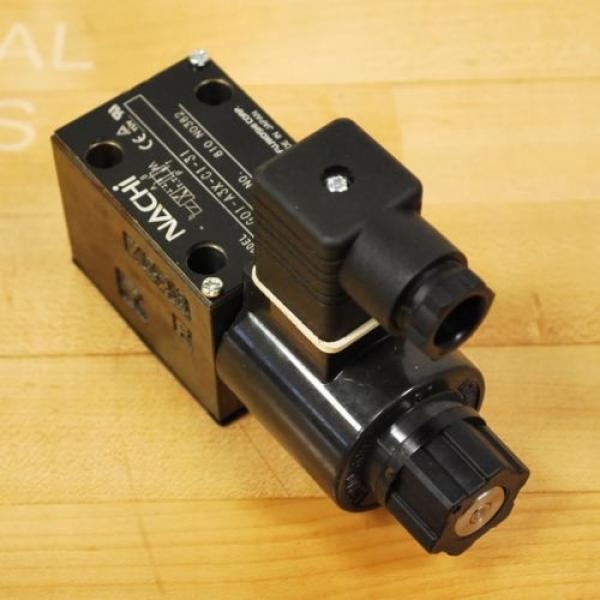 Nachi SA-G01-A3X-C1-31 Hydraulic Directional Control Valve With B12GDM Solenoid #4 image