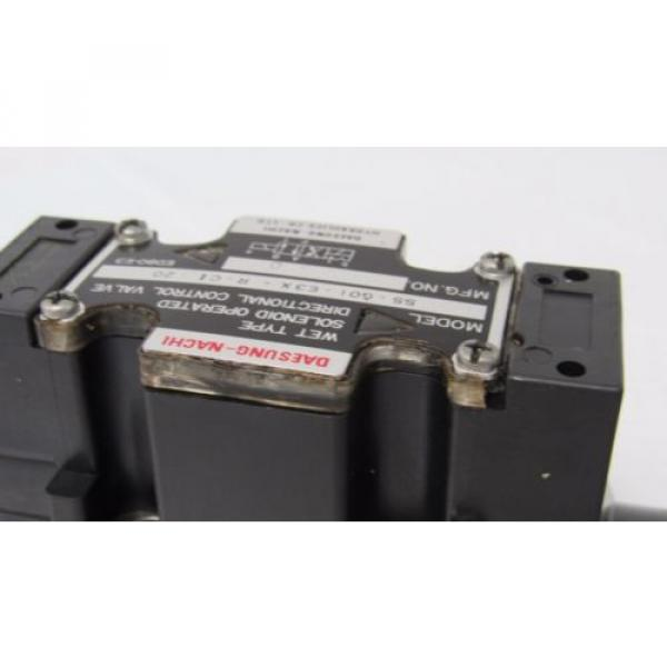 DAESUNG-NACHI SS-GO1-E3X-R-C1-20 WET SOLENOID OPERATED DIRECTIONAL CONTROL VALVE #2 image