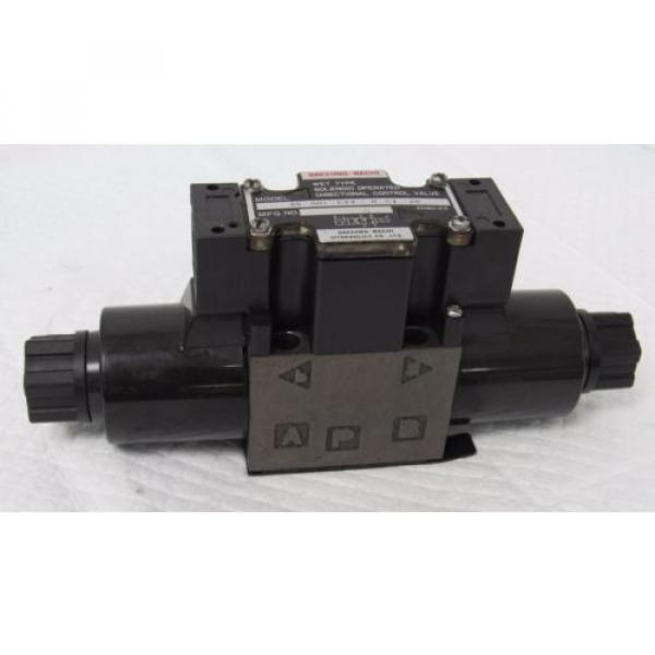 DAESUNG-NACHI SS-GO1-E3X-R-C1-20 WET SOLENOID OPERATED DIRECTIONAL CONTROL VALVE #6 image