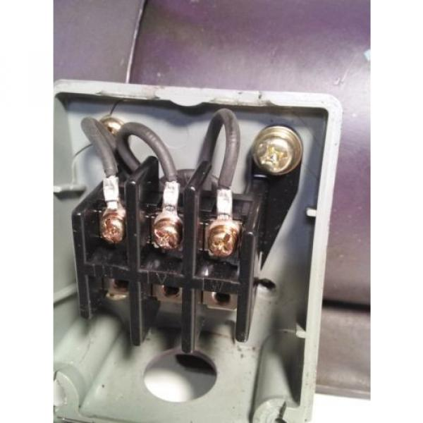 NACHI UNI Pump Motor LTIS85-NR #11 image