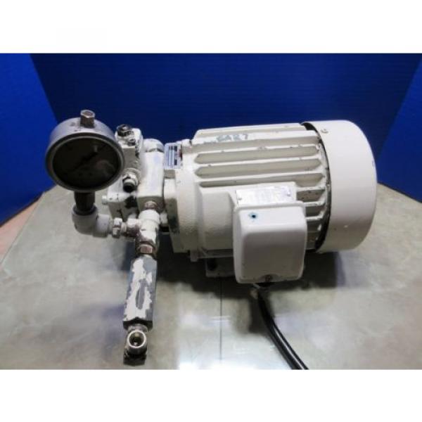 FUJI NACHI OIL MOTOR MLA2097J PUMP USV-0A-A3-15-4-1740A VDS-0B-1A3-D-1731A #1 image