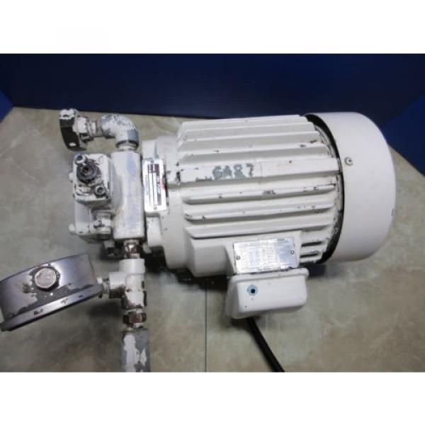 FUJI NACHI OIL MOTOR MLA2097J PUMP USV-0A-A3-15-4-1740A VDS-0B-1A3-D-1731A #2 image
