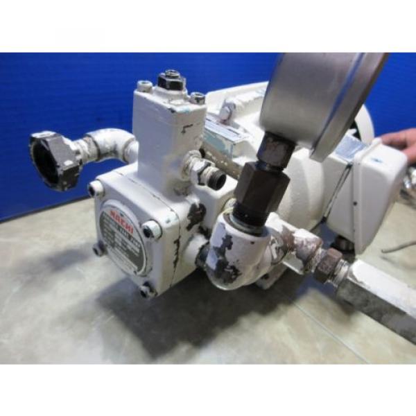 FUJI NACHI OIL MOTOR MLA2097J PUMP USV-0A-A3-15-4-1740A VDS-0B-1A3-D-1731A #3 image