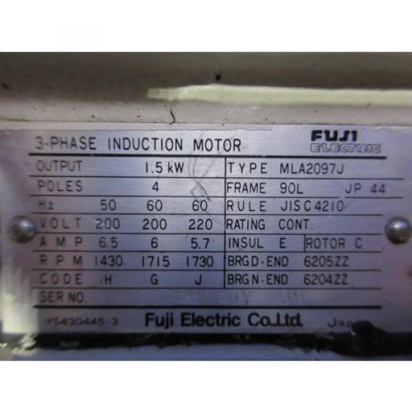 FUJI NACHI OIL MOTOR MLA2097J PUMP USV-0A-A3-15-4-1740A VDS-0B-1A3-D-1731A #4 image