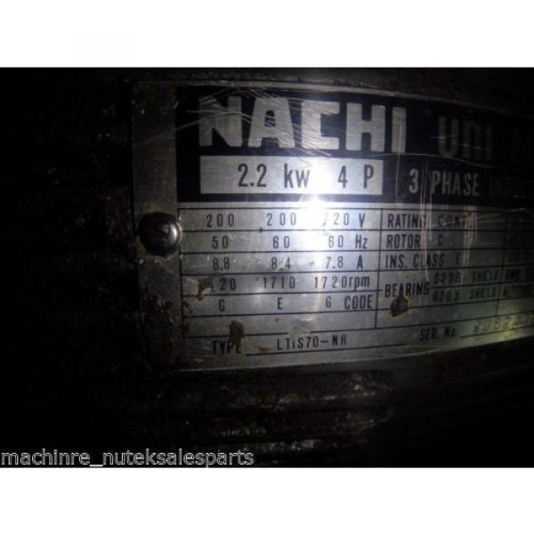 Nachi Piston Pump PVS-1B-19N1-2408F_UPV-1A-19N1-22-4-2408F_LTIS70-NR #6 image