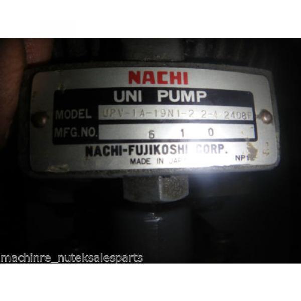 Nachi Piston Pump PVS-1B-19N1-2408F_UPV-1A-19N1-22-4-2408F_LTIS70-NR #7 image