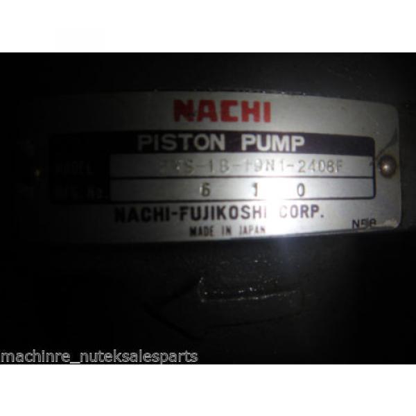 Nachi Piston Pump PVS-1B-19N1-2408F_UPV-1A-19N1-22-4-2408F_LTIS70-NR #8 image