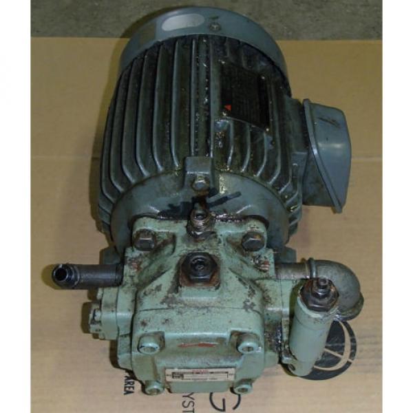 Nachi-Fujikoshi Variable Vane Pump VDC-1B-2A3-20_VDC1B2A320_Motor AEEFPP 2HP 3PH #2 image