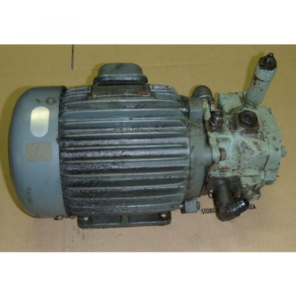 Nachi-Fujikoshi Variable Vane Pump VDC-1B-2A3-20_VDC1B2A320_Motor AEEFPP 2HP 3PH #3 image