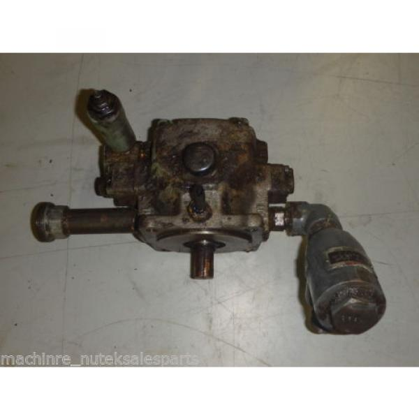 Nachi Variable Vane Pump VDC-1B-2A3-U-1048K_VDC1B2A3U1048K AS-IS #1 image