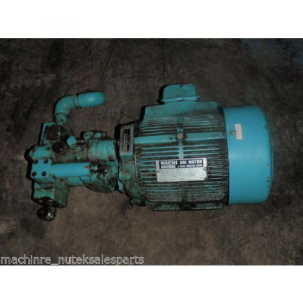 Nachi Piston Pump PVS-1B-16N1-2535A _ UPV-1A-16N1-15A-4-2535A _ Motor LTIS70-NR #1 image