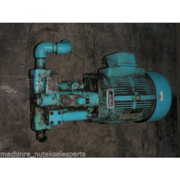 Nachi Piston Pump PVS-1B-16N1-2535A _ UPV-1A-16N1-15A-4-2535A _ Motor LTIS70-NR #2 image