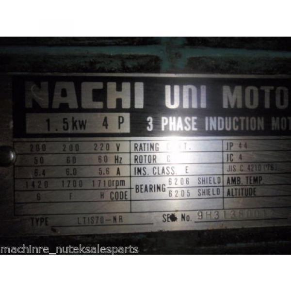 Nachi Piston Pump PVS-1B-16N1-2535A _ UPV-1A-16N1-15A-4-2535A _ Motor LTIS70-NR #3 image