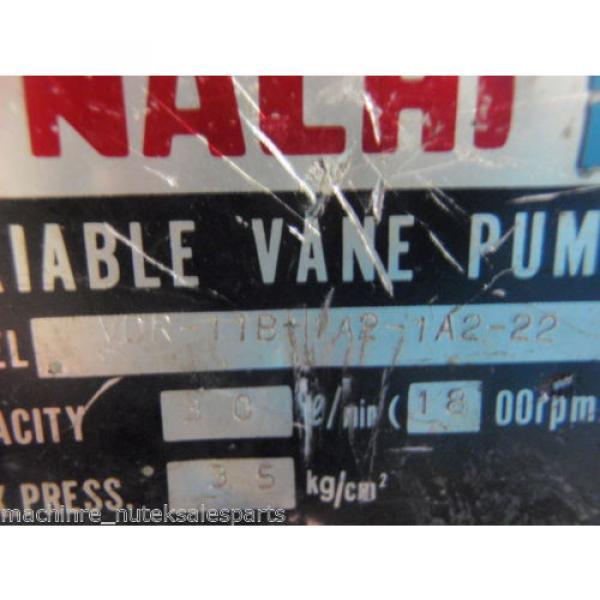 Nachi Variable Vane Pump VDR-11B-1A2-1A2-22_VDR11B1A21A222 #4 image