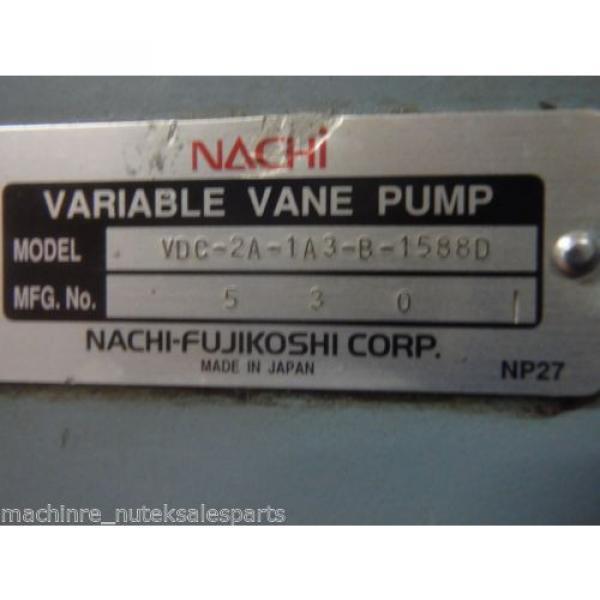Nachi Variable Vane Pump VDC-2A-1A3-B-1588D _ VDC2A1A3B1588D #5 image