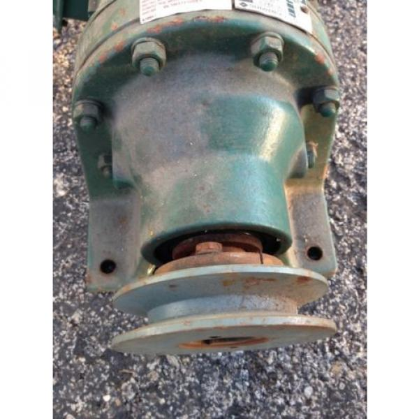 SM CYCLO 3/4 HP 3 PHASE INDUCTION MOTOR WITH SUMITOMO GEAR REDUCER 6:1 #5 image