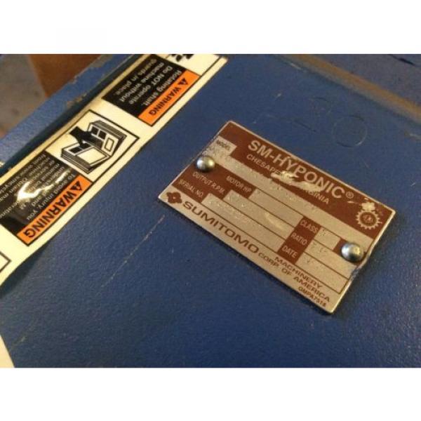 SUMITOMO DRIVE HYPONIC GEAR MOTOR RNYM113201YYAJ120 Origin NOS $799 #5 image