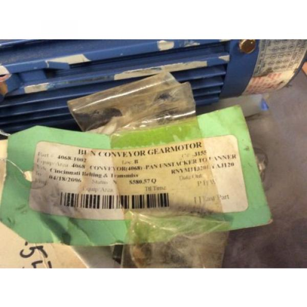 SUMITOMO DRIVE HYPONIC GEAR MOTOR RNYM113201YYAJ120 Origin NOS $799 #7 image