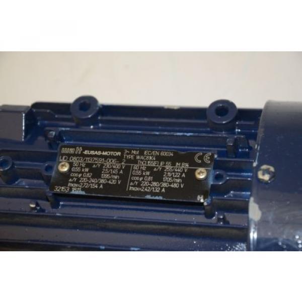 WATT Drive WAC81K4 Gear Motor, 230/400VAC w/ Sumitomo CNFX 29:1 Gearhead #4 image