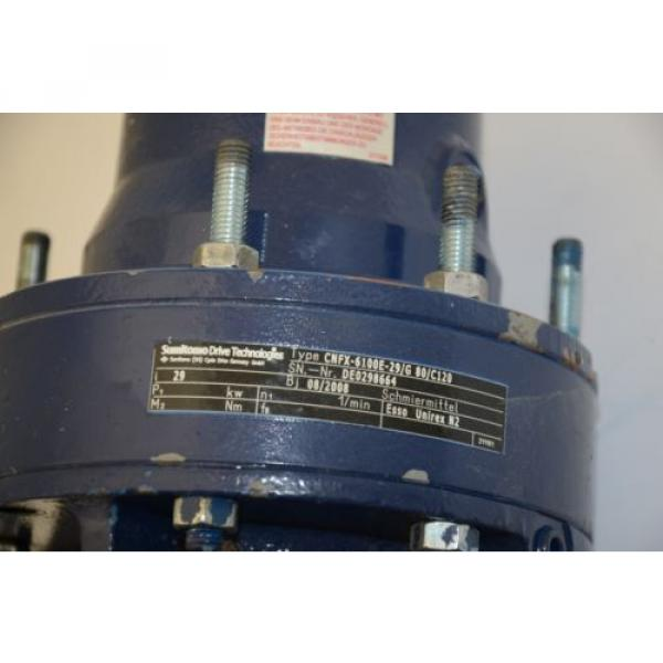WATT Drive WAC81K4 Gear Motor, 230/400VAC w/ Sumitomo CNFX 29:1 Gearhead #5 image