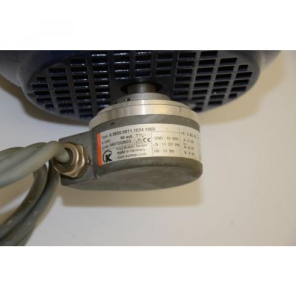 WATT Drive WAC81K4 Gear Motor, 230/400VAC w/ Sumitomo CNFX 29:1 Gearhead #6 image