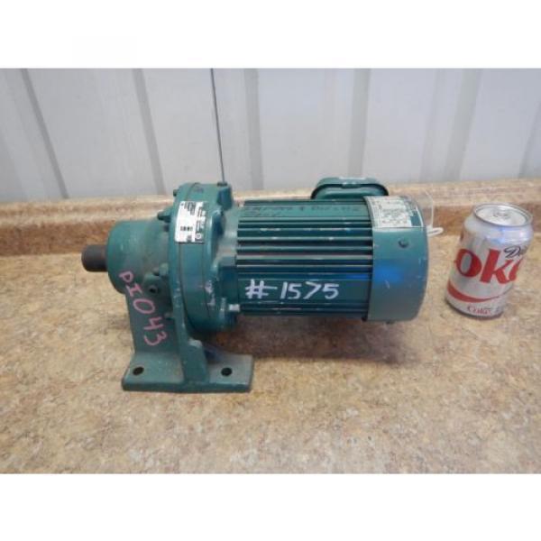 Origin Sumitomo CNHM-05-4090-YB Gear Reducer amp; Motor 1/2 HP 15:1 Ratio 230/460 Volt #4 image