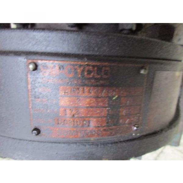 Sumitomo SM-Cyclo Motor amp; Gear TC-F/HM3145/10A 2HP 230/460V 61/30A Used #4 image