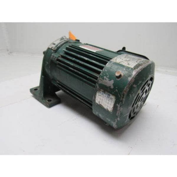 Sumitomo SM-Cyclo CNHM024075YA21 1/4HP Gear Motor 21:1 Ratio 208-230/460V 3Ph #5 image