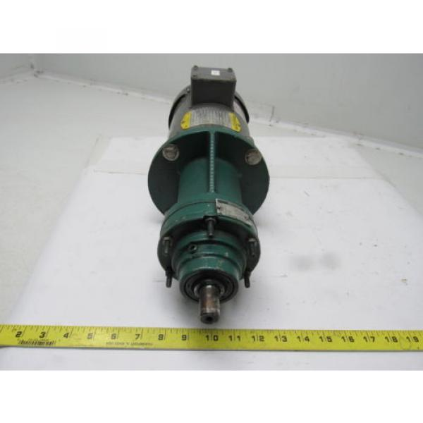 Sumitomo SM-Cyclo CNFJ-4085-Y 3/4HP Gear Motor 21:1 Ratio 208-230/460V 3Ph #4 image