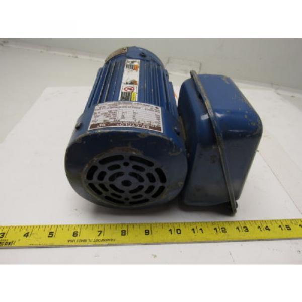 Sumitomo SM-Cyclo CNHM05-4085YA-6 1/2HP Gear Motor 6:1 Ratio 208-230/460V 3Ph #4 image