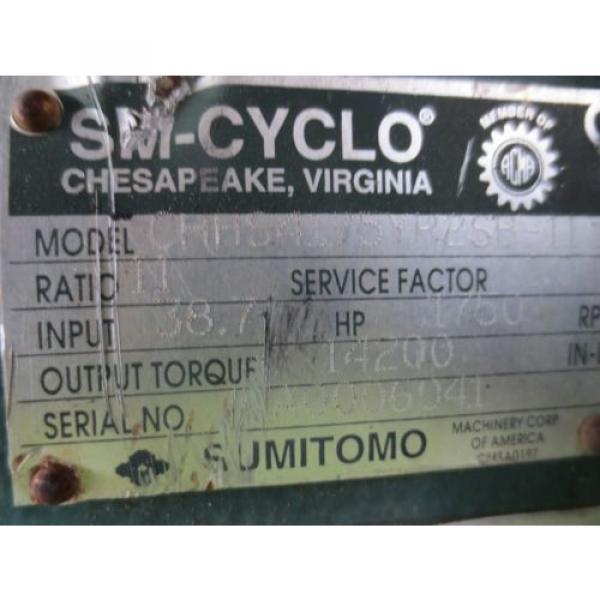 Sumitomo SM-Cyclo CHHS4175YR2SB-11 Speed Gear Reducer #8 image