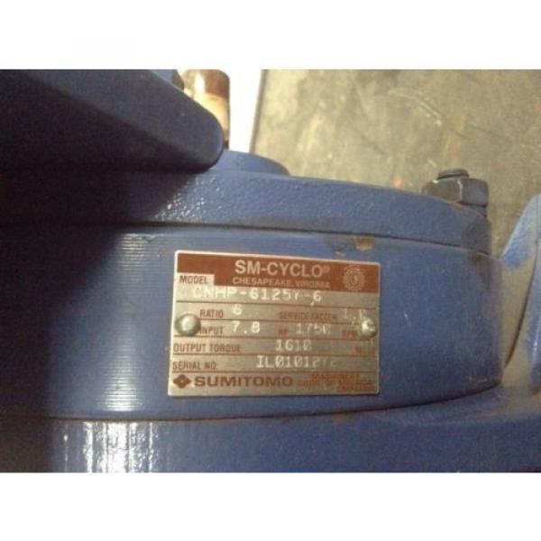Sumitomo Cyclo 6000 Gear Reducer CNPH-6125Y-6 #5 image