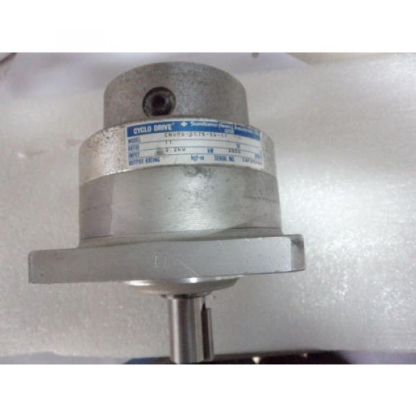 Cyclo drive gear model: CNVMS-5075-SV-11 #1 image