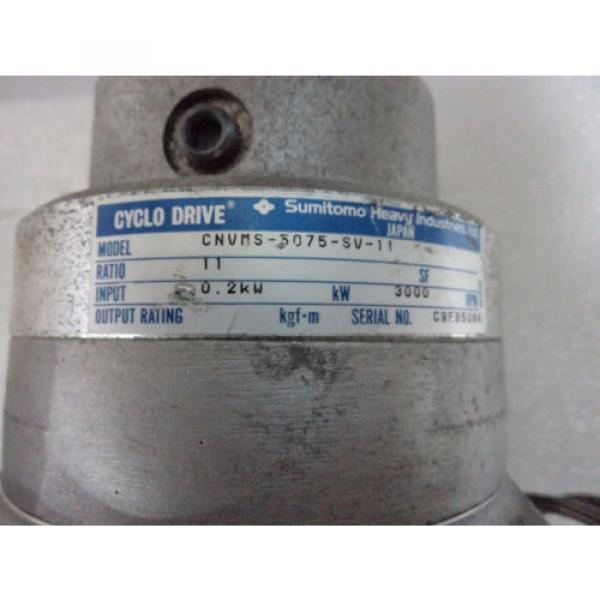 Cyclo drive gear model: CNVMS-5075-SV-11 #2 image