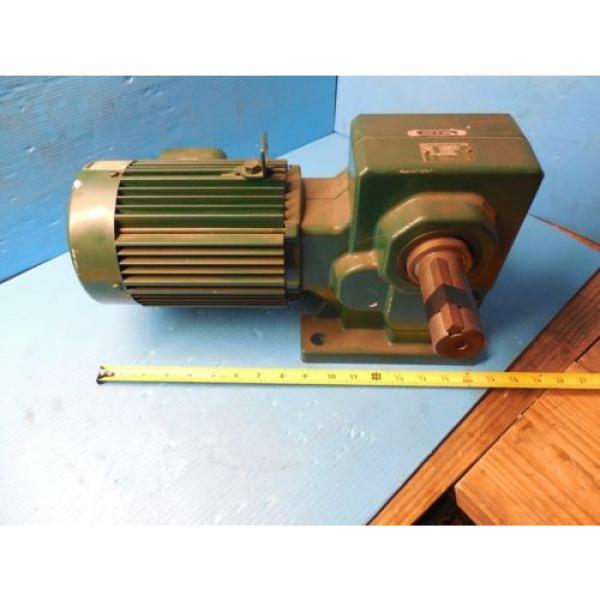 SUMITOMO RMH08-50RY AC GEAR MOTOR CLASS I MOTOR HP 3/4 RATIO 30 RPM 583 #4 image
