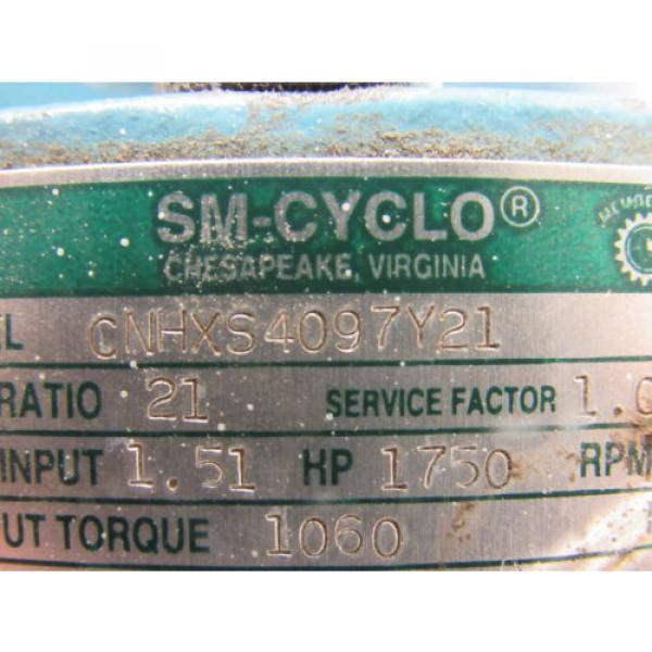 Sumitomo SM-Cyclo CNHXS4097Y21 Inline Gear Reducer 21:1 Ratio 151 Hp 1750RPM #10 image