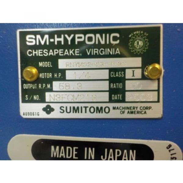 SUMITOMO TO-F/FB-02A Origin MOTOR W/GEAR HEAD #2 image