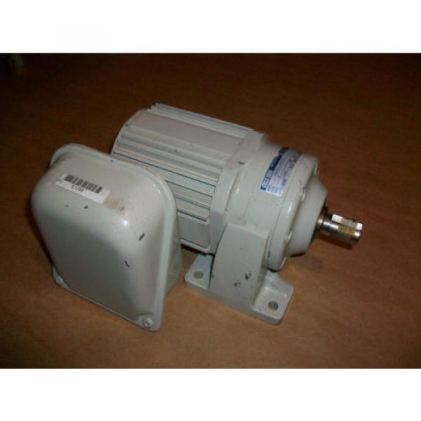 Sumitomo Cyclo Drive 3 Phase Gear Motor CNHM01-5075-6  1/8 HP  6 Ratio #1 image