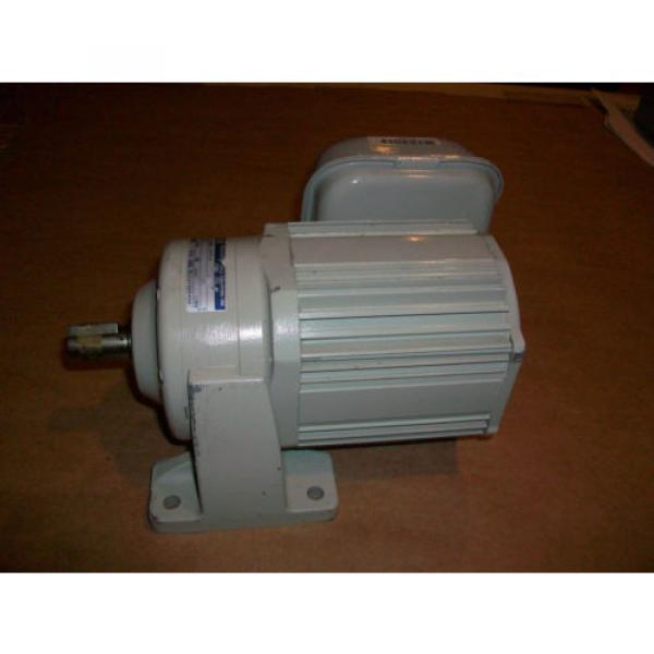 Sumitomo Cyclo Drive 3 Phase Gear Motor CNHM01-5075-6  1/8 HP  6 Ratio #2 image