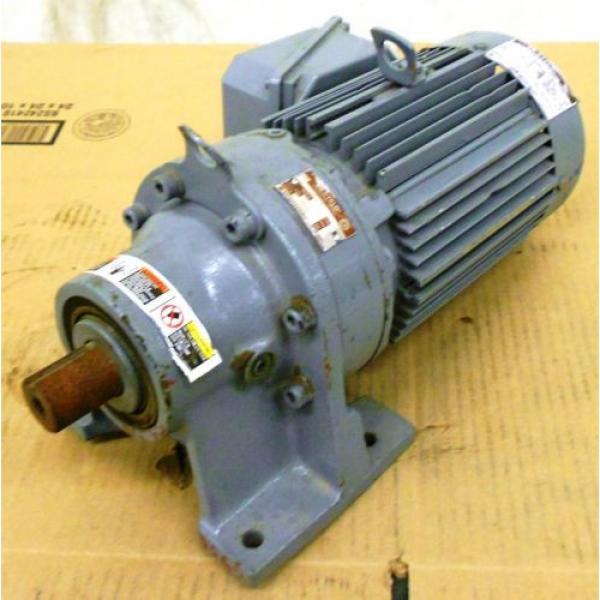 SUMITOMO SM-CYCLO INDUCTION GEAR MOTOR CNHM1-6100YC-29, 1 HP, 3 PH, RATIO 29:1 #1 image